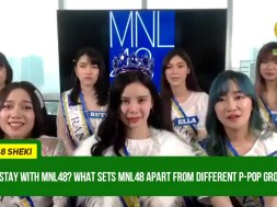 MNL48 reacts to 'competition' rumors among other P-Pop groups