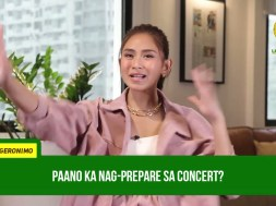 Popstar Royalty Sarah Geronimo is back on stage in a virtual 'TALA: The Film Concert'
