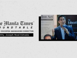 Roundtable Interview with COCOPEA Managing Director Atty. Joseph Estrada Part 2