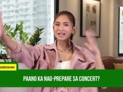 Sarah Geronimo preparing for her return after her 'Tala' concert?