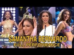 WATCH: Samantha Bernardo's Outstanding Performance in Miss Grand International 2020