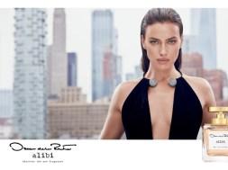 Irina Shayk Is the Face of Oscar de la Renta's New Alibi Fragrance Campaign