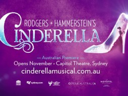 Tickets goes on sale Friday 30 April for Rodgers + Hammerstein's Cinderella.