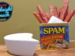 MIDNIGHT SNACK HACKS: Spam Fries with Aioli Dip