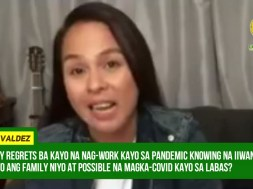 Nikki Valdez emotionally revealed how ABS-CBN cared for her safety while doing 'Bagong Umaga'