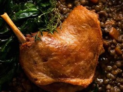 Duck Confit (French slow-cooked duck)