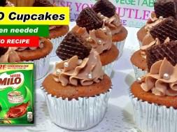 No Oven MILO Cupcakes Recipe pang-Negosyo