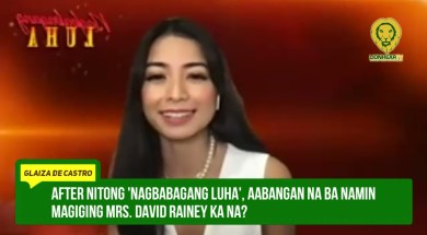 Due to the pandemic, Glaiza de Castro admits that her wedding plans aren't final yet