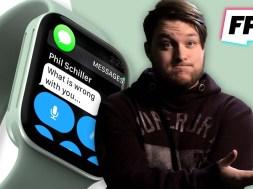 Apple Watch Series 7 might get a bigger, flatter screen