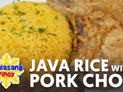Java Rice with Pork Chop