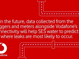 Vodafone launches unique IoT offering to accelerate change in the UK water industry