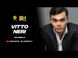 Vitto Neri reveals his dad Victor Neri wants him not enter showbiz at first