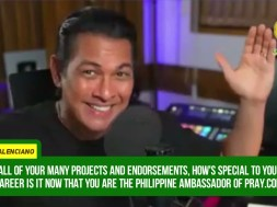 'When you pray, He is there.' Gary Valenciano on how prayers would help to overcome anxiety