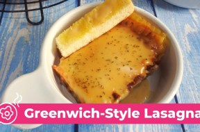 WATCH: How To Make Greenwich-Style Lasagna