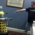A Dalek in the kitchen!