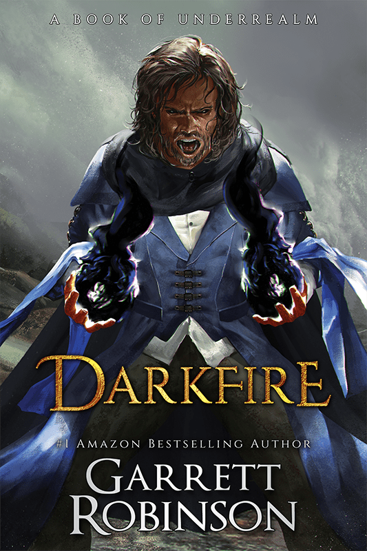 Darkfire, the #1 Amazon Bestseller by Garrett Robinson