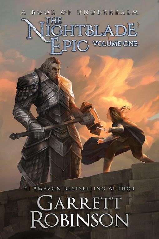 The Nightblade Epic Volume One, a #1 Amazon Bestseller by Garrett Robinson