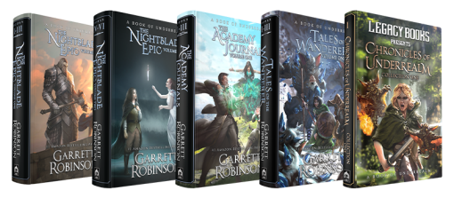 The Underrealm Full Hardcover Collection, by #1 Amazon Bestseller Garrett Robinson