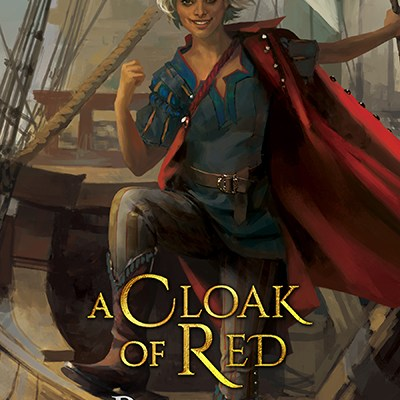 A Cloak of Red, a novel of Underrealm, by Brenna Gawain