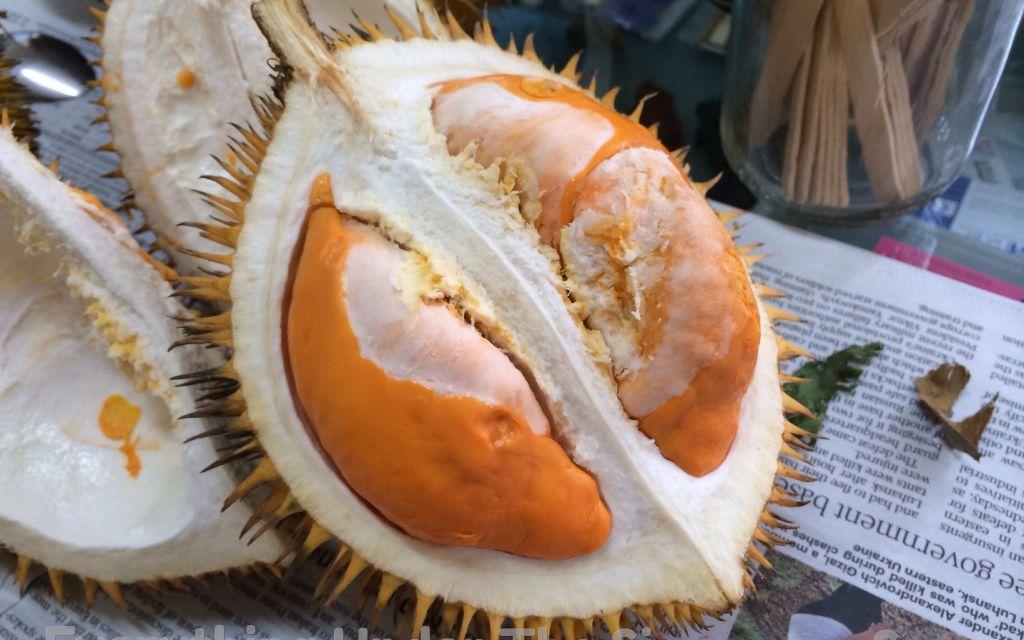 Brunei Kampung Air, Market and a Strange Local Durian