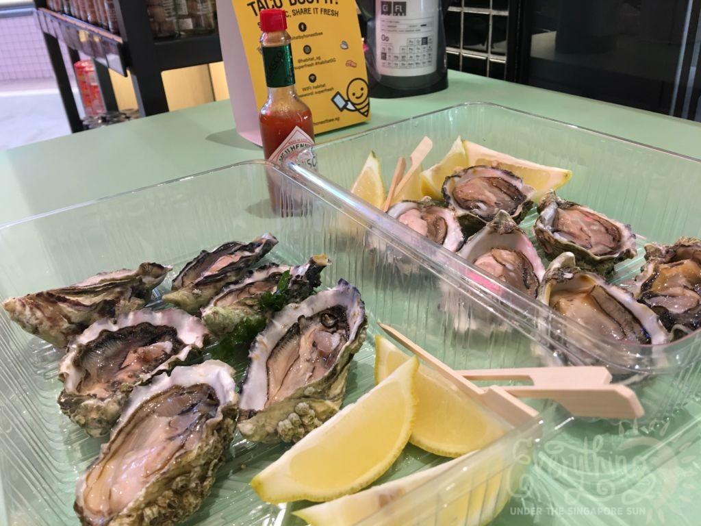 HonestBee Habitat Fresh Oysters