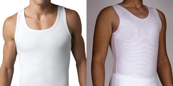 f15baf853dec4 Alternative to Spanx for Men and Underworks for Chest Compression