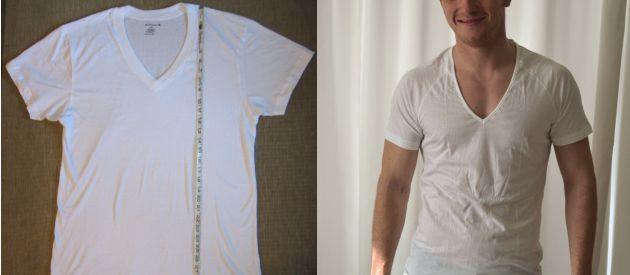 1c237d5e9835 Deep V-Neck Cotton Undershirts | UndershirtGuy