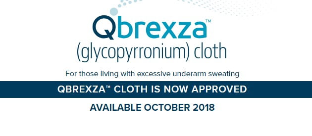 Hyperhidrosis Underarm Treatment – 24/7 Relief with Qbrexza™