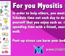 Myositis Caregivers take a break