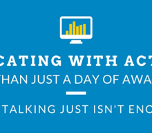 Educating with ACTION: More Than Just a Day of Awareness