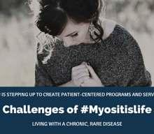 Challenges of #MyositisLIFE