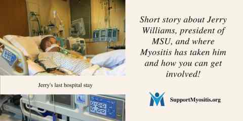 Short story about Jerry Williams, MSU president, and how you can get involved