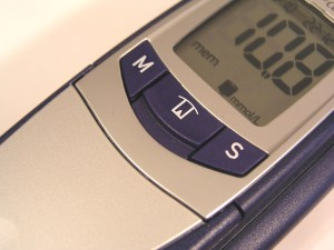 blood sugar meter