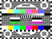 What you could see on TV mid-day when there was no broadcasting