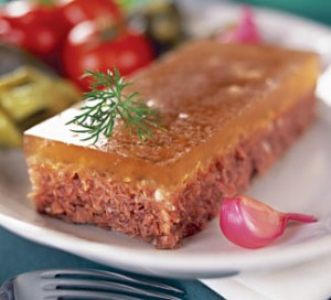 Holodets (Russian meat Jelly)
