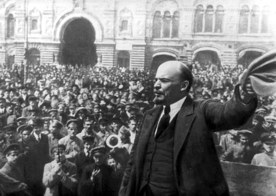 October revolution-Lenin