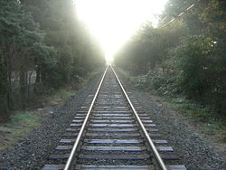 straight railway