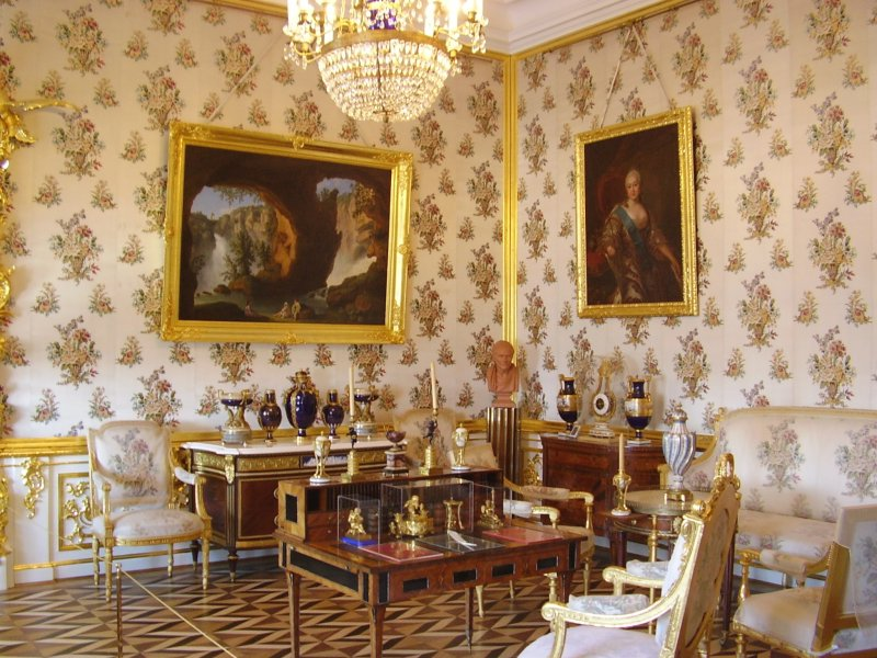 Peterhof Tsar palace interior
