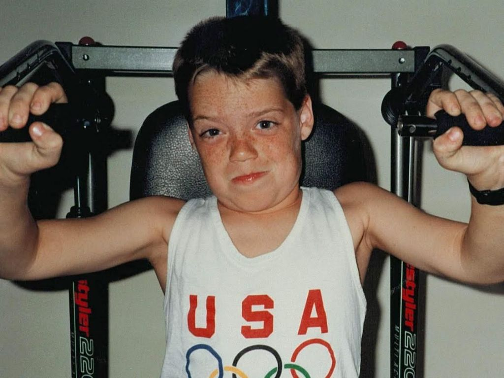 I started training for the Olympics when I was 11.