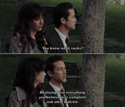 Everything I Learned, I Learned from the film [500] Days of Summer (6/6)