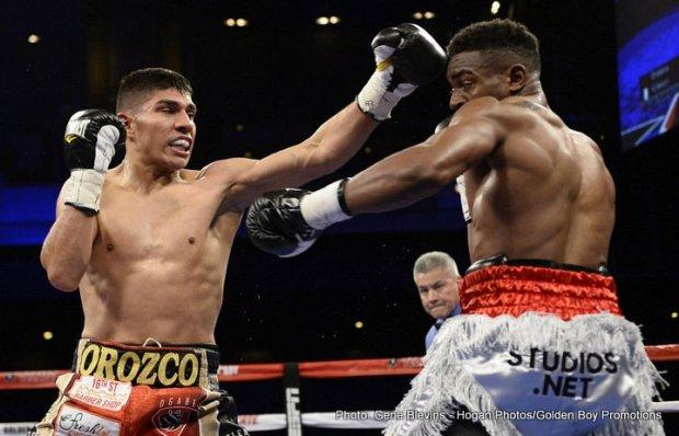 Antonio Orozco vs. Keandre Gibson
