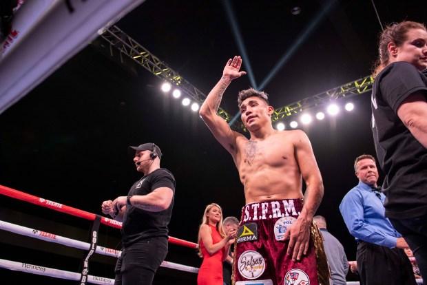 Rocky Hernandez celebrates his victory Photo Lina Baker