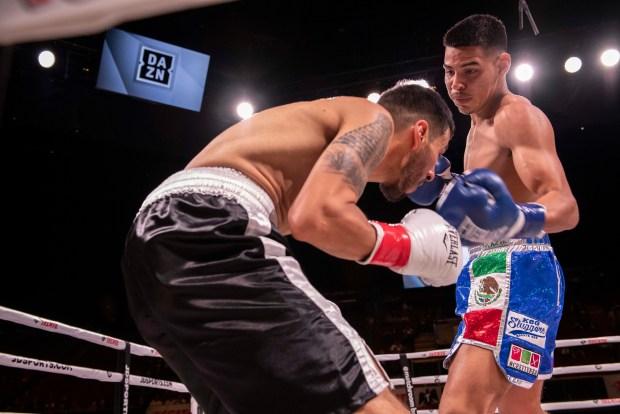 Pacheco wins via KO Photo Lina Baker