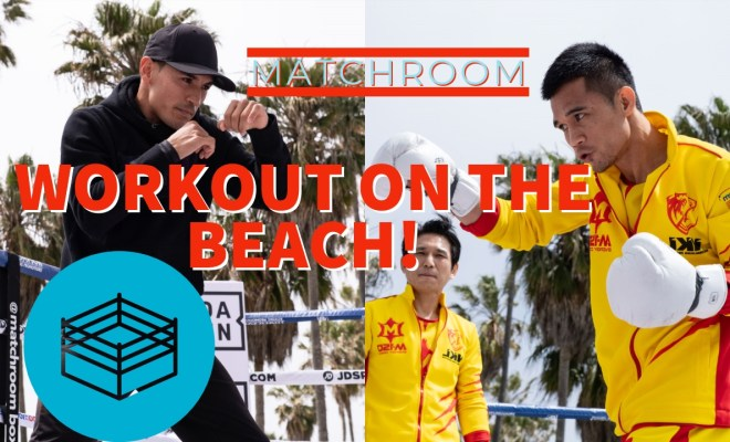 MUSCLE BEACH MEDIA WORKOUT