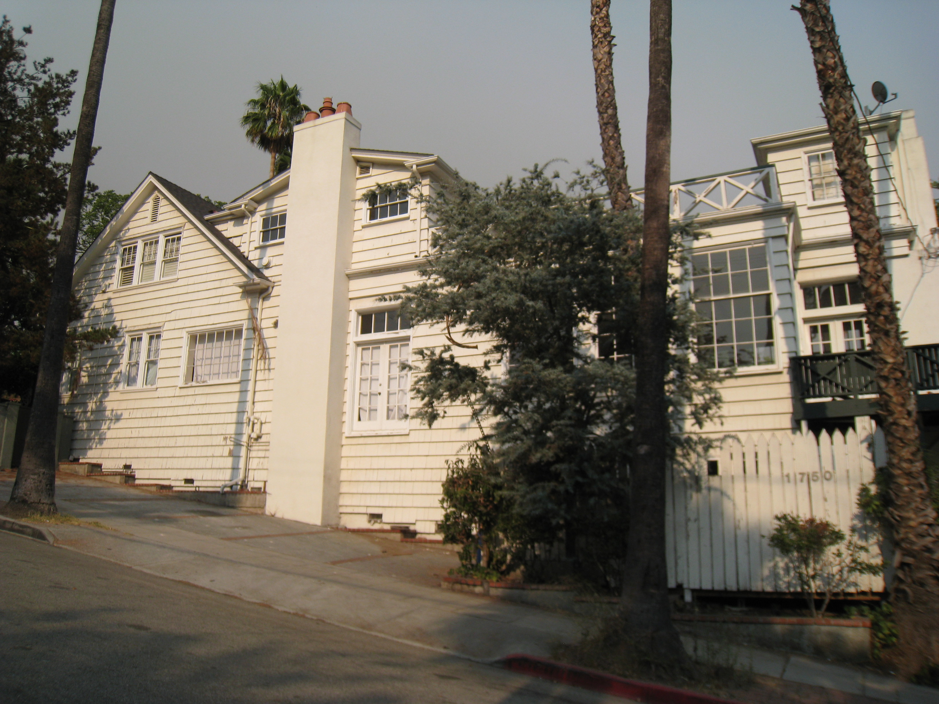 Preston Sturges's Presumed House on Vista/Hope Anderson Productions