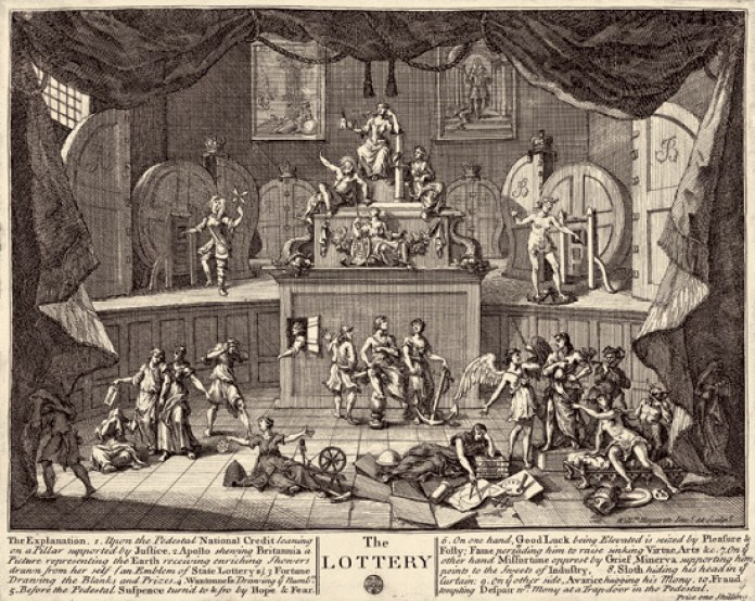William Hogarth the_lottery