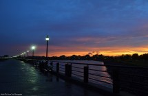 Sunset at Liberty State Park