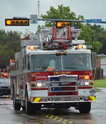 One of our town's fire trucks.