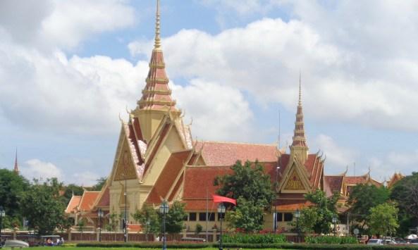 Temple around the Palace, Phnom Penh