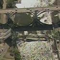 I-35W bridge areal